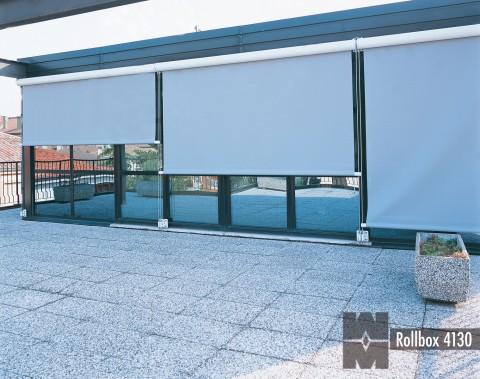 External roller blinds