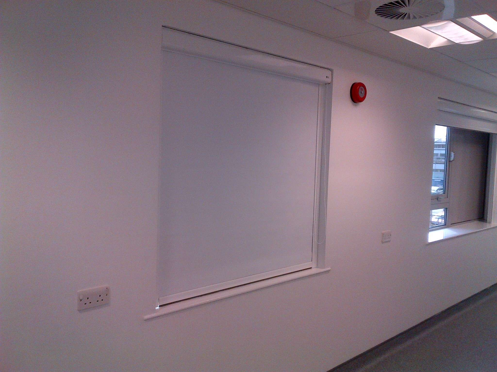 Blackout Blinds Sytems Installed By Corona Contracts Ltd