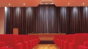 Cinema Curtains Installation