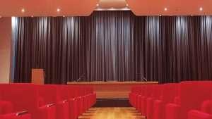 Cinema Curtains Installation