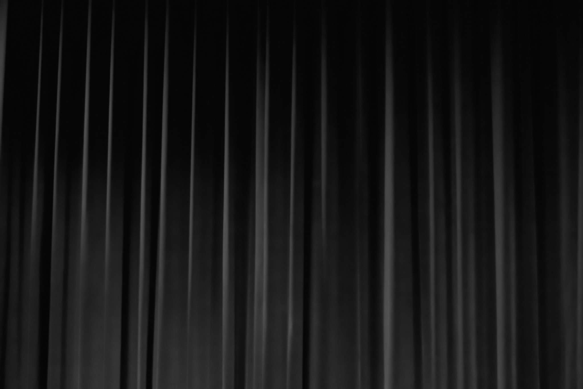 Black Stage Curtain