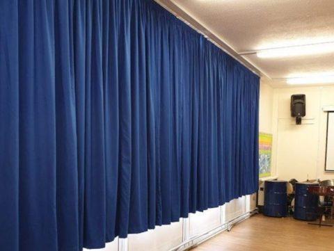 School curtains