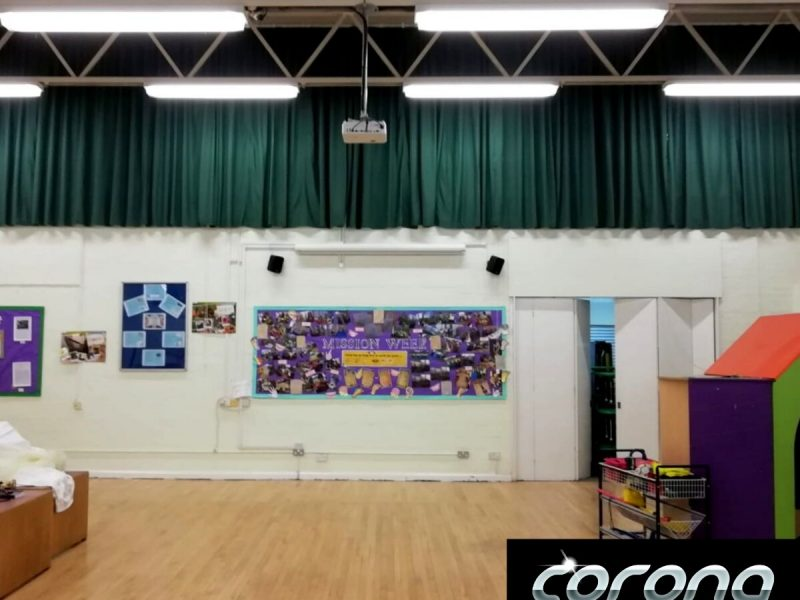 School Hall Curtain, Shropshire